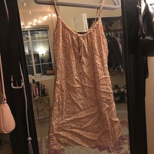 Flowery Brandy Melville spaghetti strap dress